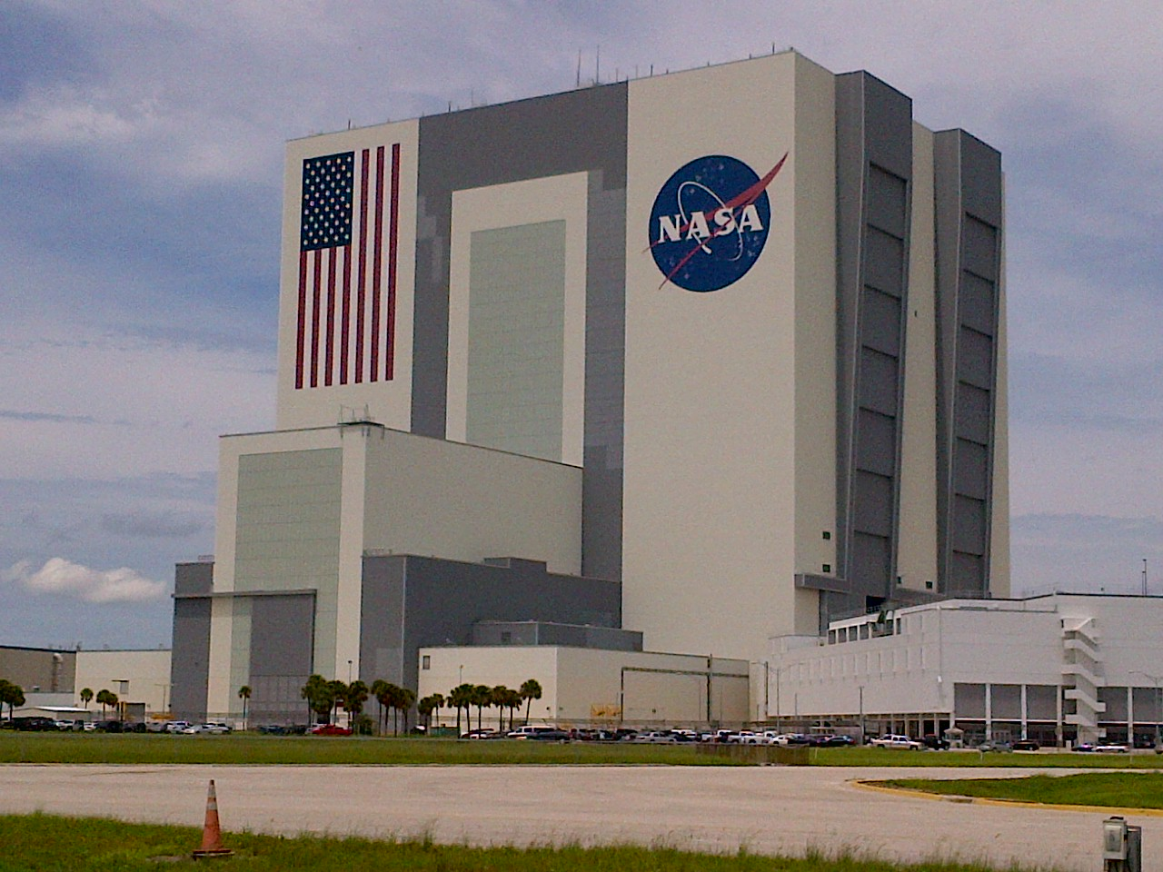 building outside of nasa -#main