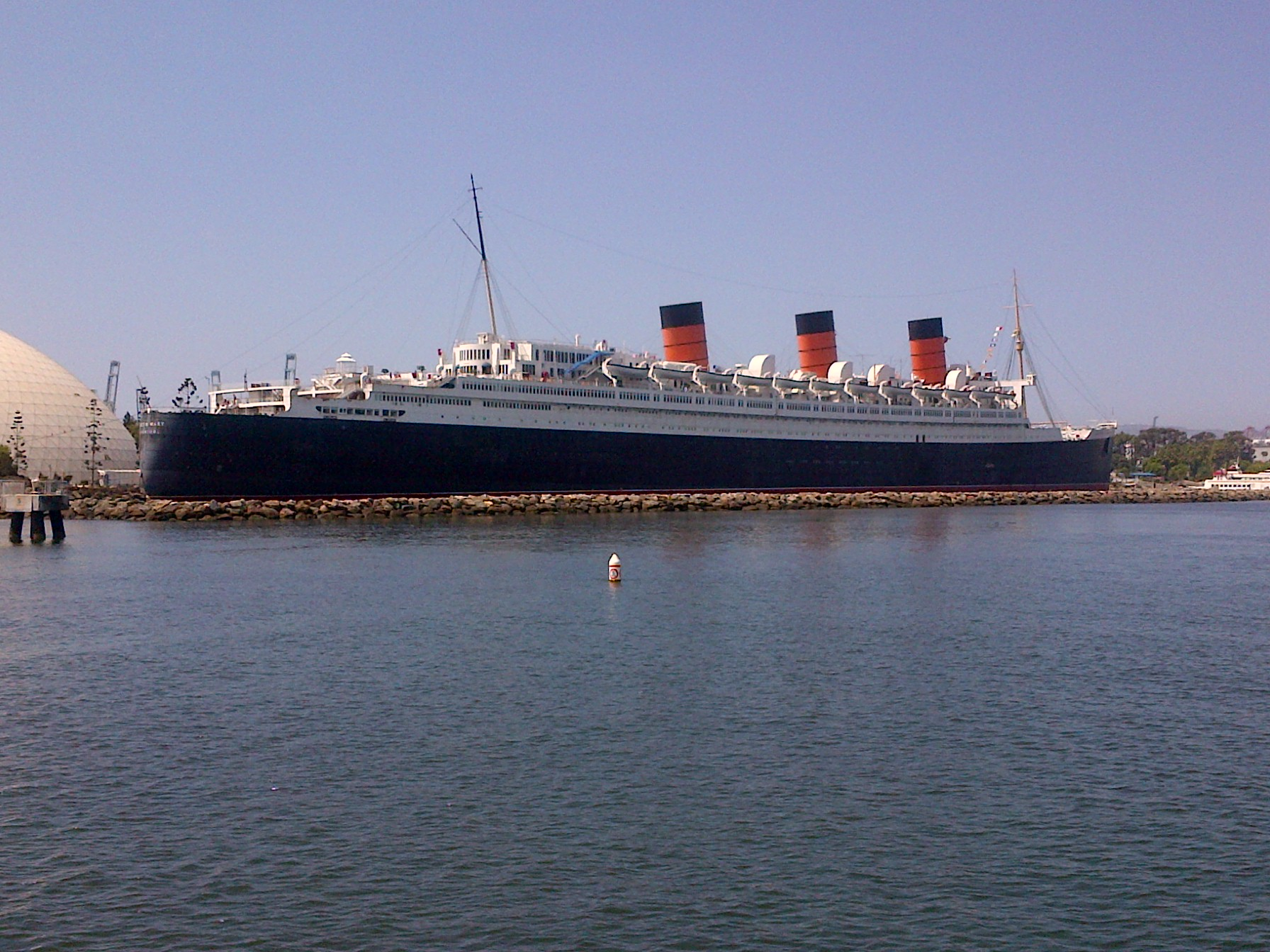 Ship Queen Mary Long Beach