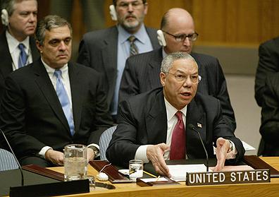 USA - Iraq - Politics - Secretary of State Colin Powell