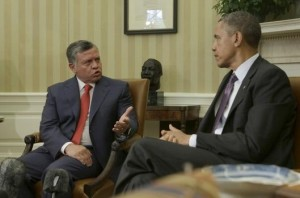 Obama Holds Bilat Meeting With Jordan's King Abdullah