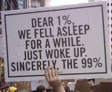 one percent